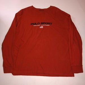 Vintage Polo Sport L/S Tee
